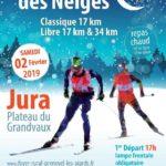 2La Course cette année a lieu dans le Grand Vaux!