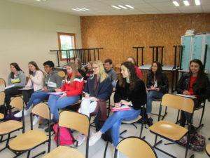 Un groupe d'élèves.