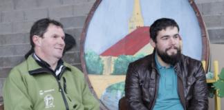 Jean-François Michel et Benoit Sermier explique la 23ème Percée du Vin Jaune 2020 à Ruffey-sur-Seille