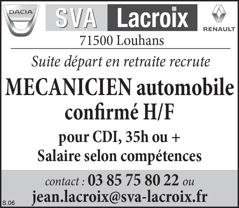 Offre emploi Renault Louhans