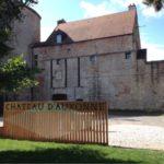 Le château Louis XI a Auxonne.