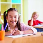 Successful schoolgirl